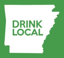 Arkansas Drink Local AR One Piece - Short Sleeve