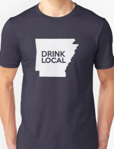 Arkansas Drink Local AR Unisex T-Shirt