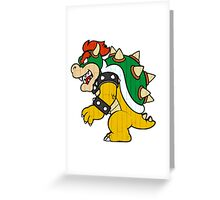 Wooden Bowser Greeting Card