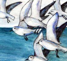 Sailors Become Seabirds Sticker