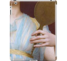 Historic Grecian fashion, Greek woman antique painting detail iPad Case/Skin