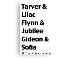 Starbound Couples Canvas Print