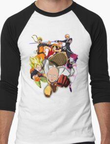 Composition anime Men's Baseball ¾ T-Shirt