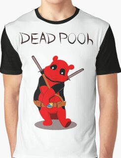 Funny Deadpooh Graphic T-Shirt