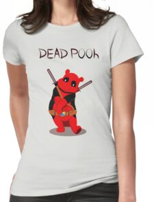 Funny Deadpooh Womens Fitted T-Shirt