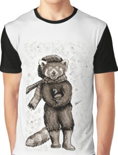 Pumpkin the Red Panda Graphic T-Shirt