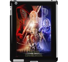 """Kendo and Naginata"" - Star Wars 7 inspiration iPad Case/Skin"