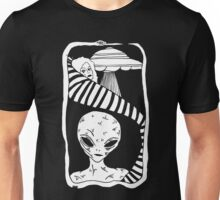 Grey Space by Allie Hartley  Unisex T-Shirt