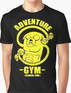 Jake Adventure Time Gym Graphic T-Shirt