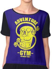 Jake Adventure Time Gym Chiffon Top