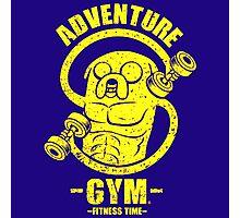 Jake Adventure Time Gym Photographic Print