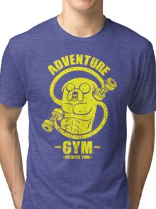 Jake Adventure Time Gym Tri-blend T-Shirt