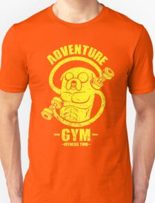 Jake Adventure Time Gym Unisex T-Shirt