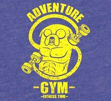 Jake Adventure Time Gym Tri-blend T-Shirt