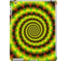 Spiral in Yellow Red and Green iPad Case/Skin