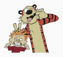 Calvin And Hobbes Fun Art One Piece - Short Sleeve