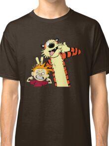 Calvin And Hobbes Fun Art Classic T-Shirt