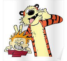 Calvin And Hobbes Fun Art Poster