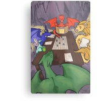 Dragons and Dungeons Metal Print