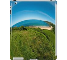 Kinnagoe Bay (as half a planet :-) iPad Case/Skin