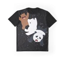 Bare Bear Fly Graphic T-Shirt