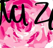 Delta Zeta Flower Sticker