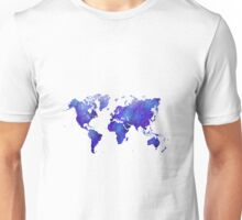 Mappodevorio V3 - abstract world map Unisex T-Shirt
