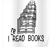 i reREAD books Poster