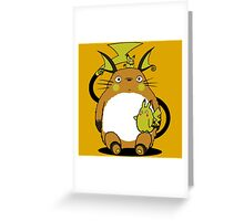 totoro,pokemon Greeting Card
