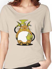 totoro,pokemon Women's Relaxed Fit T-Shirt