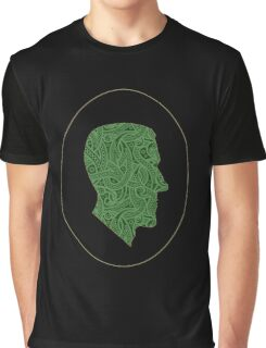 Lovecraft Silhouette Graphic T-Shirt