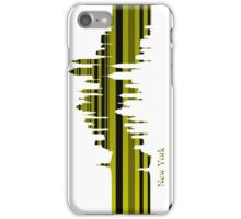 New York lines 1 iPhone Case/Skin
