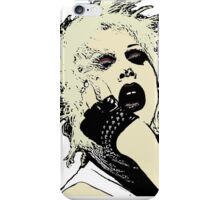 Sharon Needles in black iPhone Case/Skin