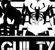 """GUILTY"" Prince Devitt / Finn Balor NXT  Shirt Sticker"
