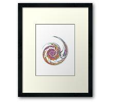 White Bubble  Framed Print