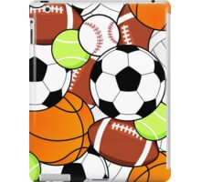 Sports Fan Pattern iPad Case/Skin