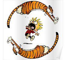 Calvin And Hobbes Fun Poster