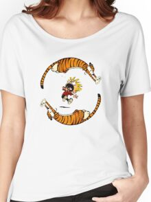 Calvin And Hobbes Fun Women's Relaxed Fit T-Shirt