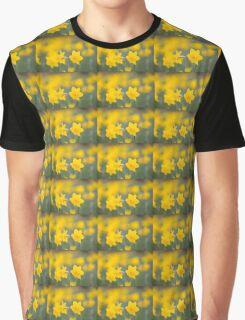 Daffodil yellow Graphic T-Shirt