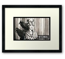 Nevermore Framed Print