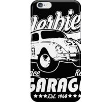 Herbie Garage iPhone Case/Skin