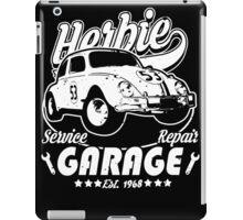 Herbie Garage iPad Case/Skin