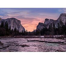Valley View - Yosemite Photographic Print