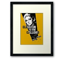 Elevator to the Gallows Framed Print