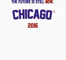 The Future Is Still Now. Chicago Cubs 2015 Men's Baseball ¾ T-Shirt
