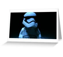 Lego First Order StormTrooper Greeting Card