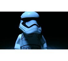 Lego First Order StormTrooper Photographic Print