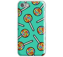 Rainbow Lollipop Pattern iPhone Case/Skin