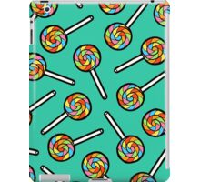 Rainbow Lollipop Pattern iPad Case/Skin