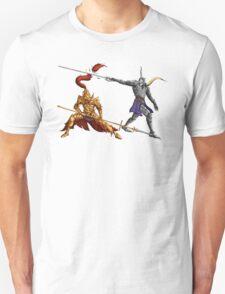 Gold vs Silver Unisex T-Shirt